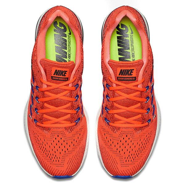 【EST S】Nike Air Zoom Vomero 10 717440-801 編織 透氣 慢跑鞋 男鞋 橘 G1011 2