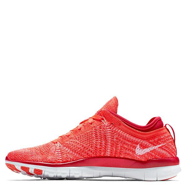 【EST S】NIKE WMNS FREE 5.0 TR FLYKNIT 718785-601 赤足 編織 訓練 慢跑鞋 女鞋 橘 G1011 0