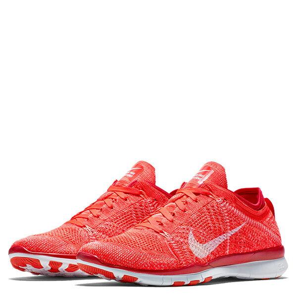 【EST S】NIKE WMNS FREE 5.0 TR FLYKNIT 718785-601 赤足 編織 訓練 慢跑鞋 女鞋 橘 G1011 1