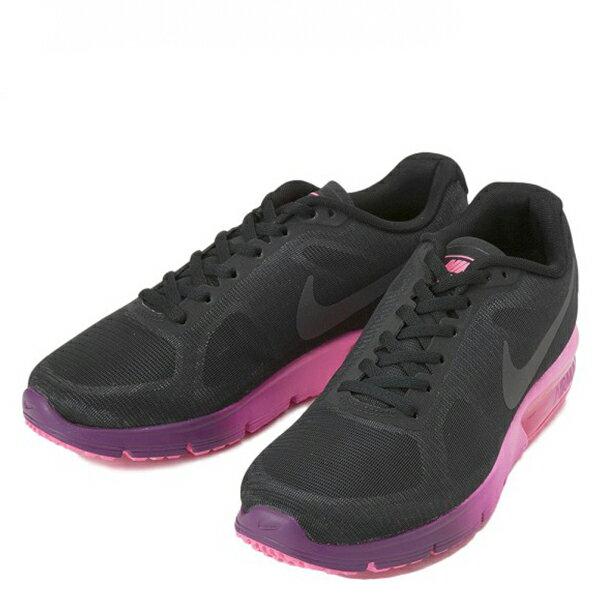 【EST S】Nike Air Max Sequent 719916-015 黑桃紅漸層大氣墊 女鞋 G1012 1