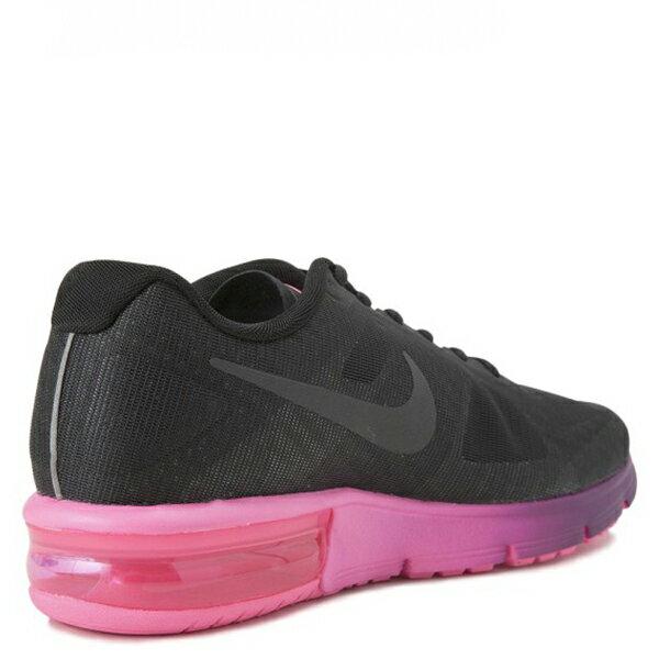 【EST S】Nike Air Max Sequent 719916-015 黑桃紅漸層大氣墊 女鞋 G1012 2