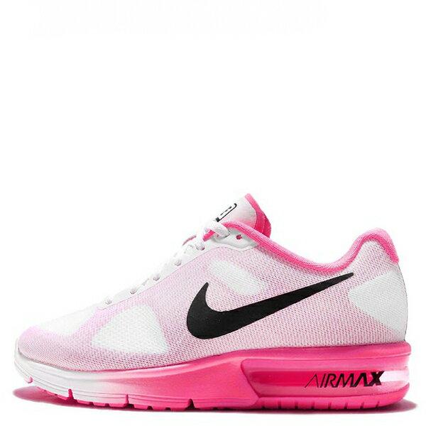 【EST S】NIKE AIR MAX SEQUENT 719916-106 白粉紅漸層大氣墊 女鞋 G1012