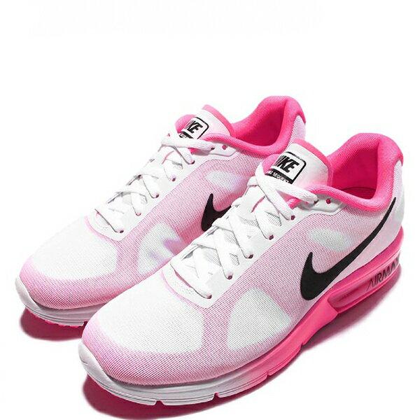 【EST S】Nike Air Max Sequent 719916-106 白粉紅漸層大氣墊 女鞋 G1012 2