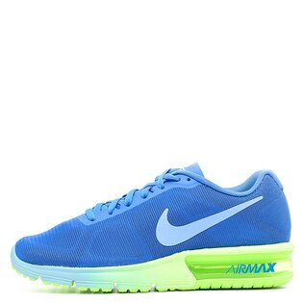 【EST S】NIKE AIR MAX SEQUENT 719916-406 藍綠漸層大氣墊 女鞋 G1012
