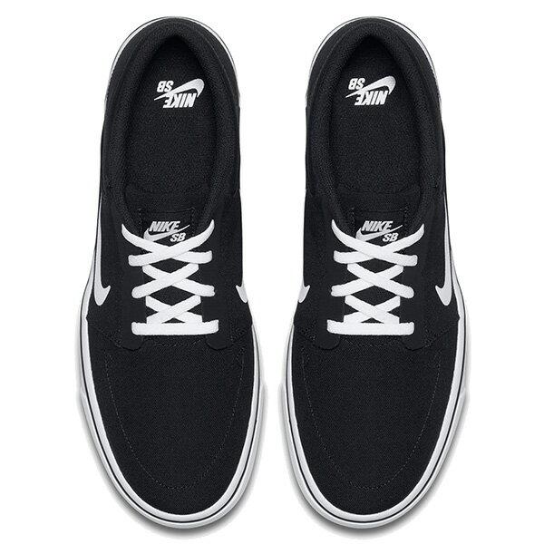 【EST S】NIKE SB PORTMORE CNVS PREMIUM 723874-003 休閒 滑板鞋 男鞋 黑 G1011 2