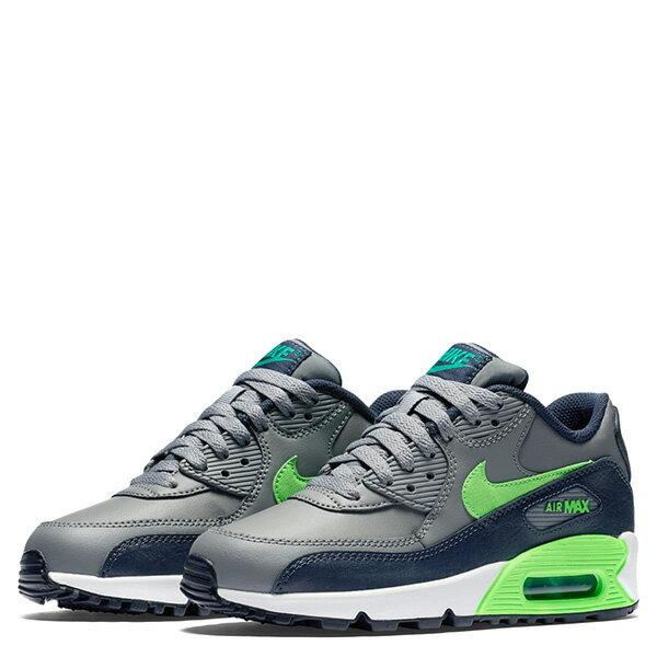 【EST S】Nike Air Max 90 Ltr Gs 724821-013 氣墊 慢跑鞋 大童鞋 灰 G1011 1