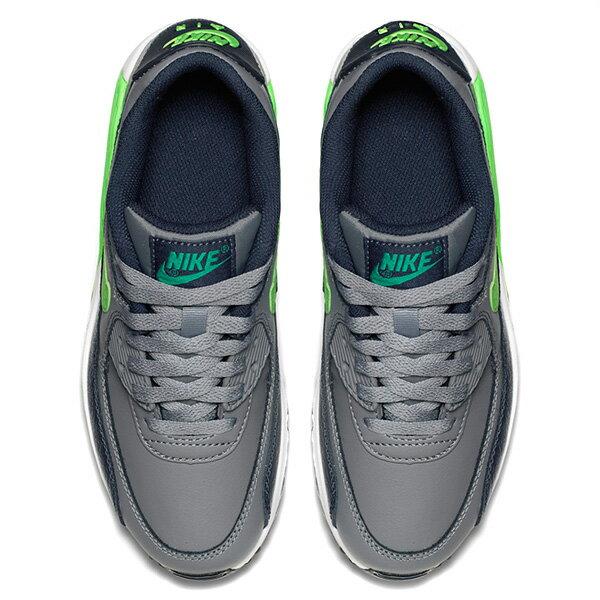 【EST S】Nike Air Max 90 Ltr Gs 724821-013 氣墊 慢跑鞋 大童鞋 灰 G1011 2