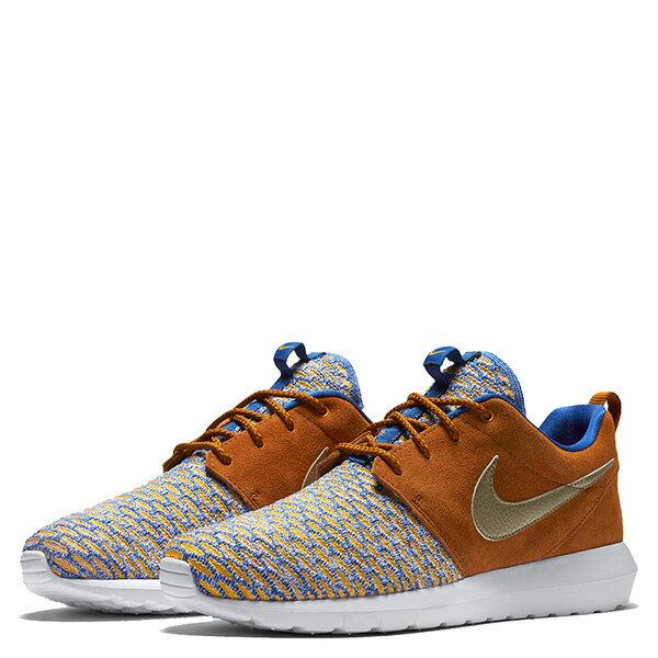 【EST S】Nike Roshe Nm Flyknit Prm 746825-402 皮革 編織 慢跑鞋 男鞋 卡其 G1011 1