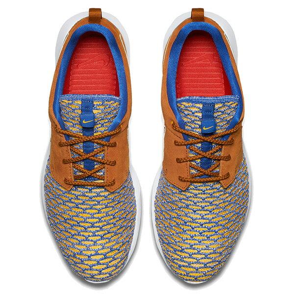 【EST S】NIKE ROSHE NM FLYKNIT PRM 746825-402 皮革 編織 慢跑鞋 男鞋 卡其 G1011 2