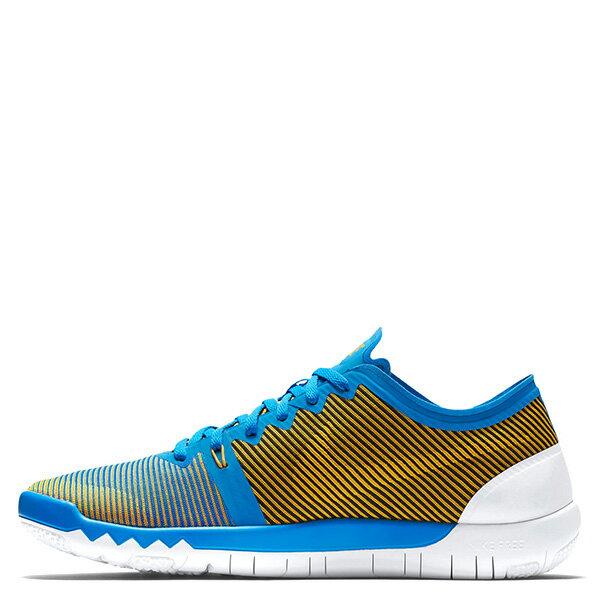 【EST S】Nike Free Trainer 3.0 V4 749361-470 條紋 赤足 慢跑鞋 男鞋 藍 G1011 0