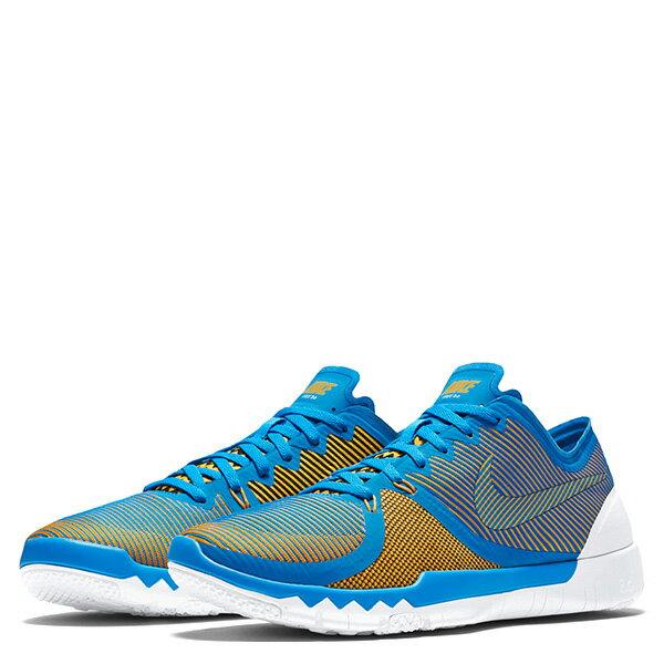 【EST S】Nike Free Trainer 3.0 V4 749361-470 條紋 赤足 慢跑鞋 男鞋 藍 G1011 1