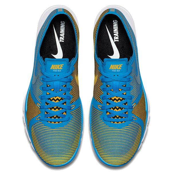 【EST S】Nike Free Trainer 3.0 V4 749361-470 條紋 赤足 慢跑鞋 男鞋 藍 G1011 2