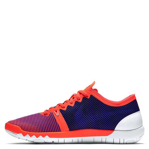 【EST S】NIKE FREE TRAINER 3.0 V4 749361-840 條紋 赤足 慢跑鞋 男鞋 橘 G1011 0