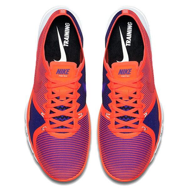 【EST S】NIKE FREE TRAINER 3.0 V4 749361-840 條紋 赤足 慢跑鞋 男鞋 橘 G1011 2