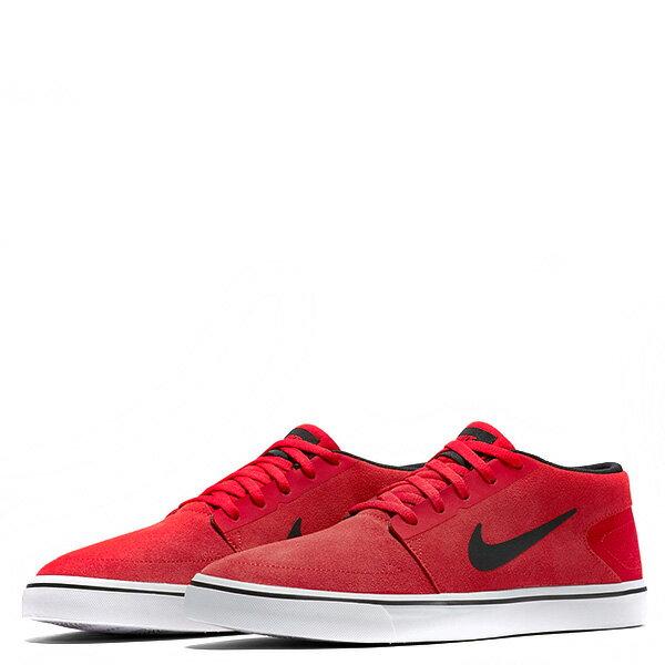 【EST S】NIKE SB PORTMORE MID 749633-600 中筒 麂皮 黑線 休閒鞋 男鞋 紅 G1011 1