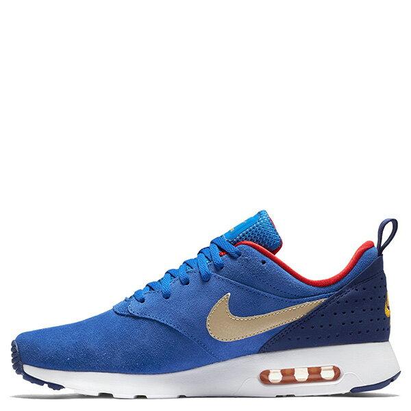 【EST S】NIKE AIR MAX TAVAS LTR 802611-407 復古 金勾 慢跑鞋 男鞋 藍 G0623
