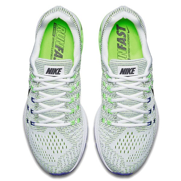 【EST S】NIKE AIR ZOOM STRUCTURE 19 806580-100 飛線 編織 慢跑鞋 男鞋 白 G1011 2