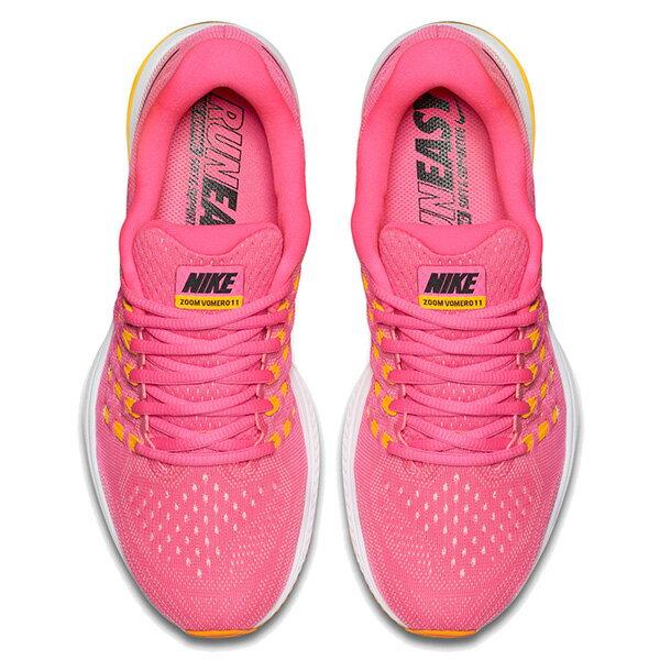 【EST S】Nike Air Zoom Vomero 11 818100-600 無縫線 飛線 慢跑鞋 女鞋 粉 G1011 2