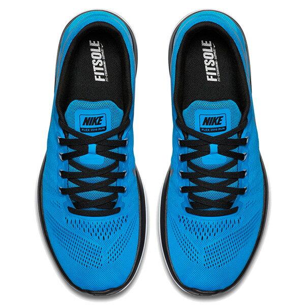 【EST S】NIKE FLEX 2016 RN FREE 830369-400 輕量 編織 訓練 慢跑鞋 男鞋 藍 G1011 2