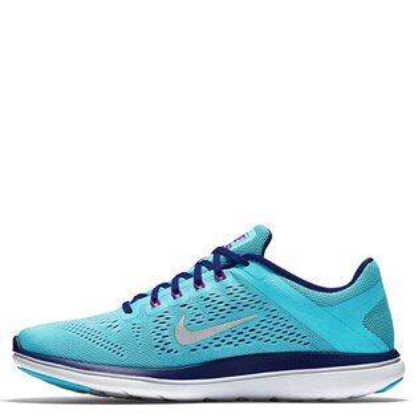 【EST S】NIKE WMNS FLEX 2016 RN 830751-400 輕量 編織 訓練 慢跑鞋 女鞋 藍 G1011