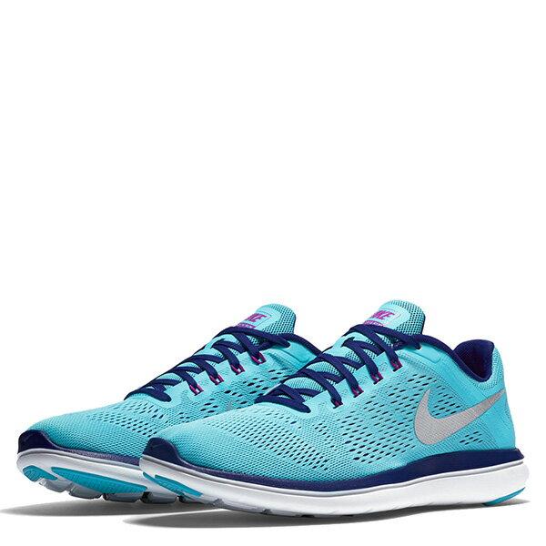 【EST S】NIKE WMNS FLEX 2016 RN 830751-400 輕量 編織 訓練 慢跑鞋 女鞋 藍 G1011 1