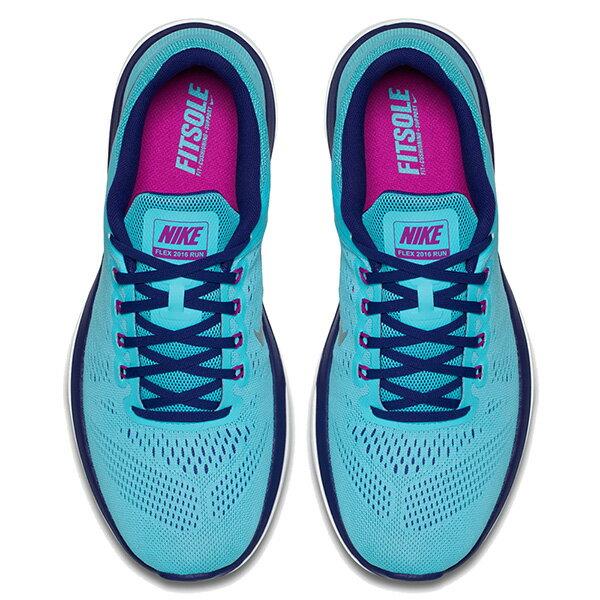 【EST S】NIKE WMNS FLEX 2016 RN 830751-400 輕量 編織 訓練 慢跑鞋 女鞋 藍 G1011 2