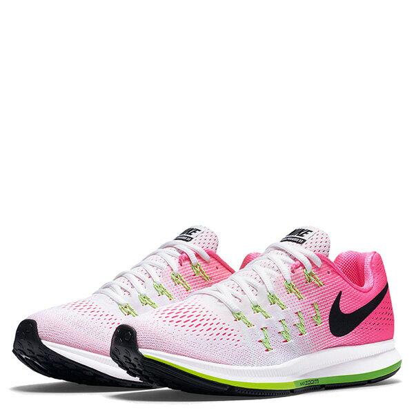 【EST S】NIKE WMNS AIR ZOOM PEGASUS 33 831356-106 飛線 慢跑鞋 女鞋 白 G1011 1