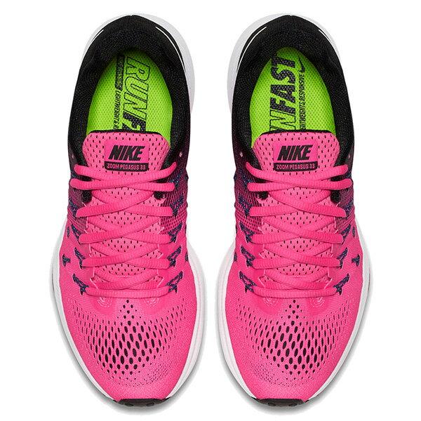 【EST S】Nike Air Zoom Pegasus 33 831356-600 飛線 慢跑鞋 女鞋 粉 G1011 2