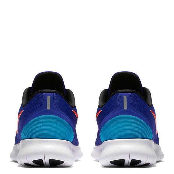 【EST S】Nike Free Rn 831508-401 反光 輕量 赤足 訓練 慢跑鞋 男鞋 藍 G1011 3