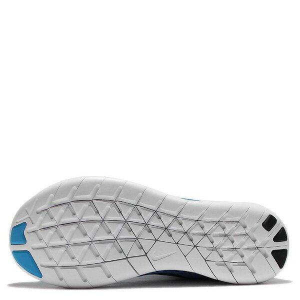 【EST S】NIKE WMNS FREE RN 831509-404 反光 輕量 赤足 訓練 慢跑鞋 女鞋 藍 G1011 4