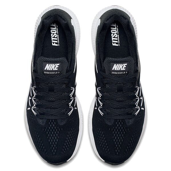 【EST S】NIKE ZOOM WINFLO 3 831561-001 輕量 飛線 慢跑鞋 男鞋 黑 G1011 2
