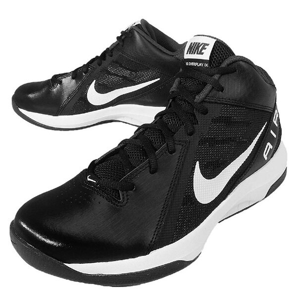 【EST S】NIKE THE AIR OVERPLAY IX 831572-001 皮革 籃球鞋 男鞋 黑 G1011 2