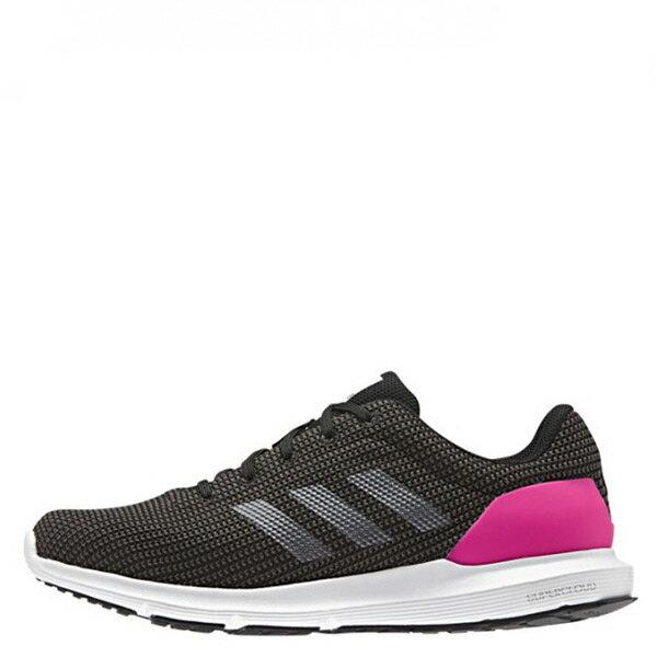 【EST S】ADIDAS COSMIC AQ2179 慢跑鞋 運動鞋網布 黑白桃紅 G1021