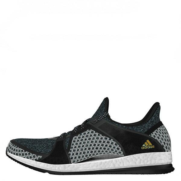 【EST S】ADIDAS PURE BOOST X TR AQ4596 輕量緩震運動鞋訓練鞋 黑白灰 G1021