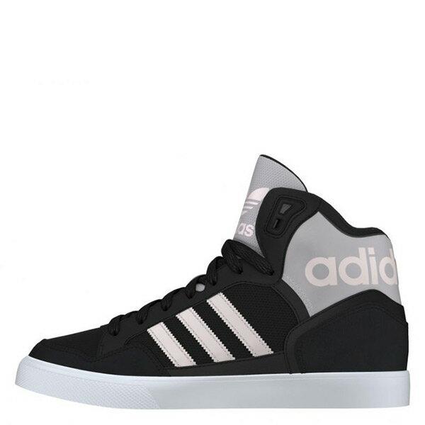 【EST S】ADIDAS ORIGINALS EXTABALL AQ4798 高筒休閒鞋 黑粉白 G1021