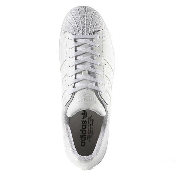【EST S】Adidas Superstar Shoes B27136 皮革 休閒鞋 男女鞋 全白 G1018 1