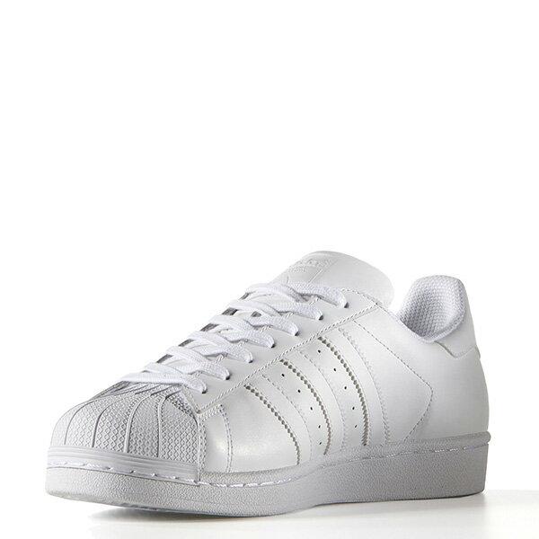【EST S】Adidas Superstar Shoes B27136 皮革 休閒鞋 男女鞋 全白 G1018 3