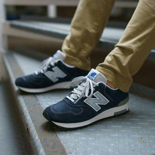 【EST S】New Balance M1400NV 美國製 麂皮 復古 慢跑鞋 男鞋 藍 G1018 4