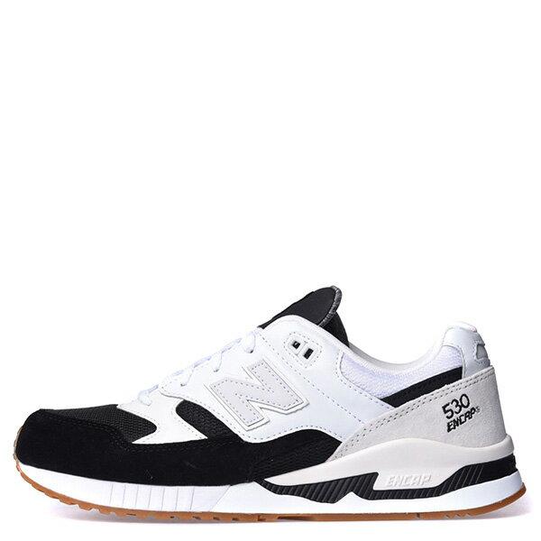 【EST S】New Balance M530Ab 麂皮 皮革 反光 復古 慢跑鞋 男鞋 黑白 G1018 0