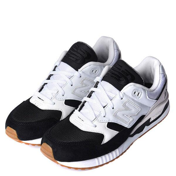 【EST S】New Balance M530Ab 麂皮 皮革 反光 復古 慢跑鞋 男鞋 黑白 G1018 1
