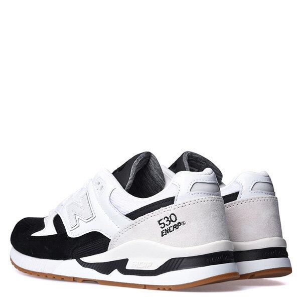 【EST S】New Balance M530Ab 麂皮 皮革 反光 復古 慢跑鞋 男鞋 黑白 G1018 3