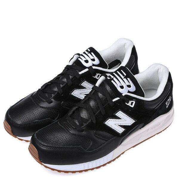 【EST S】NEW BALANCE M530ATB 膠底 麂皮 皮革 復古 慢跑鞋 男鞋 黑 G1018 1