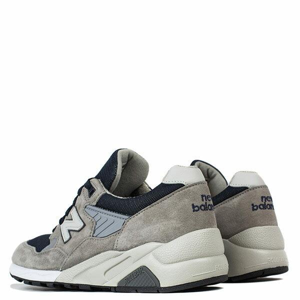 【EST S】NEW BALANCE M585GR 美國製 麂皮 皮革 網布 藍灰 男鞋 G1018 2