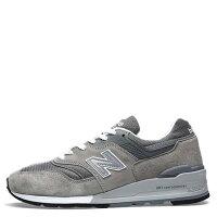 New Balance 美國慢跑鞋/跑步鞋推薦【EST S】NEW BALANCE M997GY 美國製 反光 麂皮 復古 慢跑鞋 男鞋 元祖灰 G1018