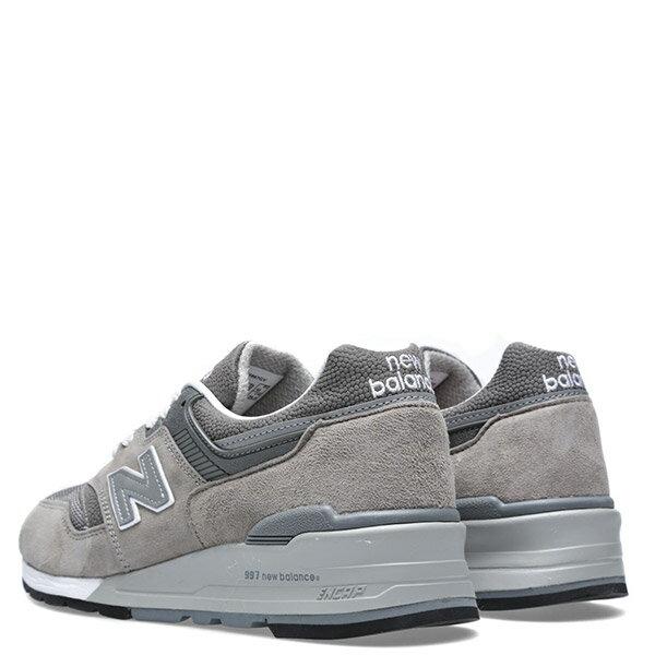 【EST S】NEW BALANCE M997GY 美國製 反光 麂皮 復古 慢跑鞋 男鞋 元祖灰 G1018 2