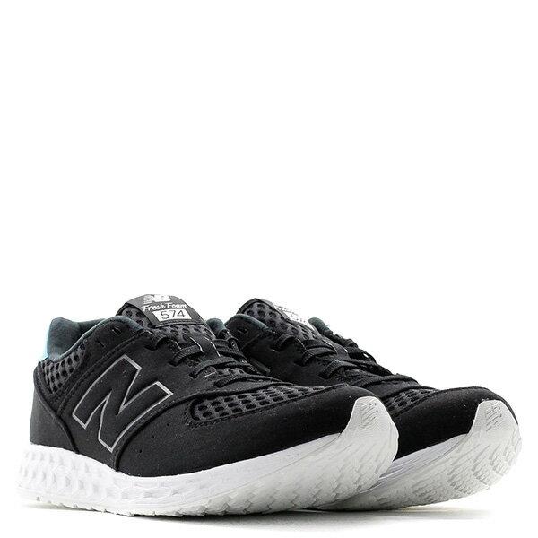 【EST S】New Balance MFL574NO 麂皮 網洞 輕量 慢跑鞋 男鞋 黑 G1018 1