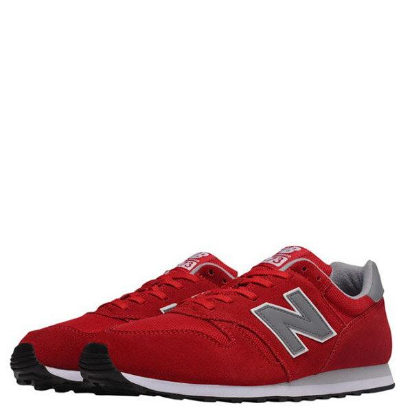 【EST S】NEW BALANCE ML373HR 麂皮 網布 復古 慢跑鞋 男鞋 紅 G1018 2