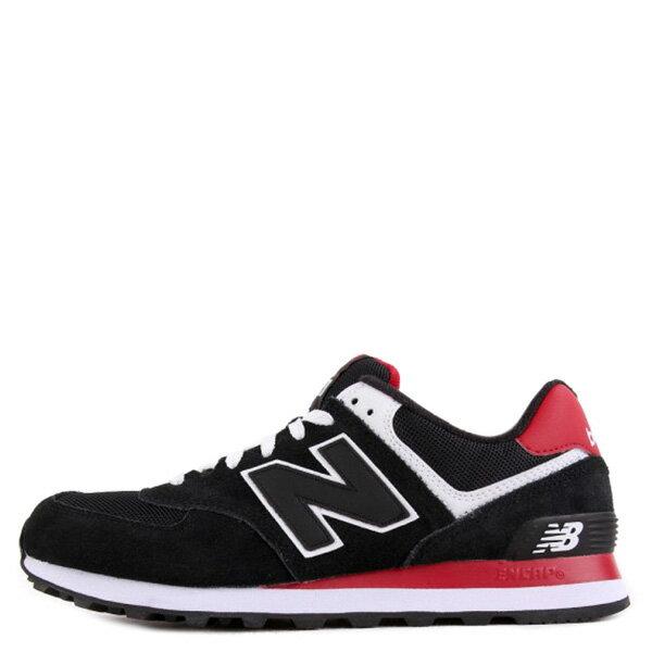 【EST S】New Balance ML574CPA 麂皮 網布 復古 慢跑鞋 男鞋 黑紅 G1018 0
