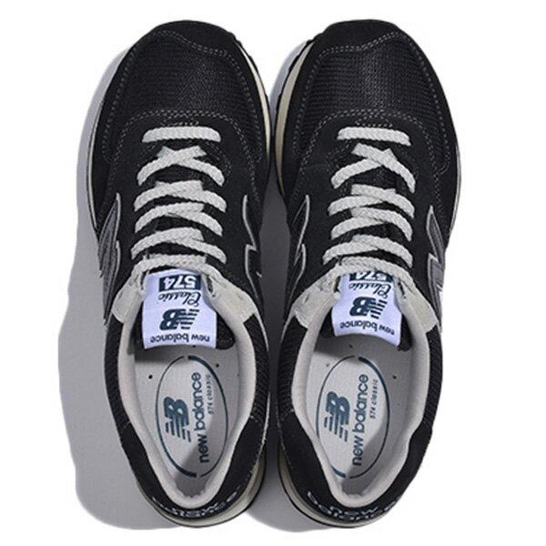 【EST S】New Balance ML574FBG 麂皮 奶油底 網布 復古 慢跑鞋 男鞋 黑 G1018 2