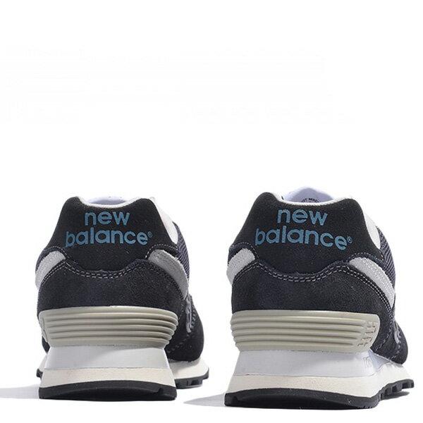 【EST S】New Balance ML574FBG 麂皮 奶油底 網布 復古 慢跑鞋 男鞋 黑 G1018 3